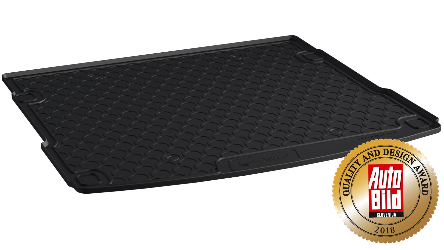 design gummi kofferraumwanne kofferraummatte passgenau. Black Bedroom Furniture Sets. Home Design Ideas
