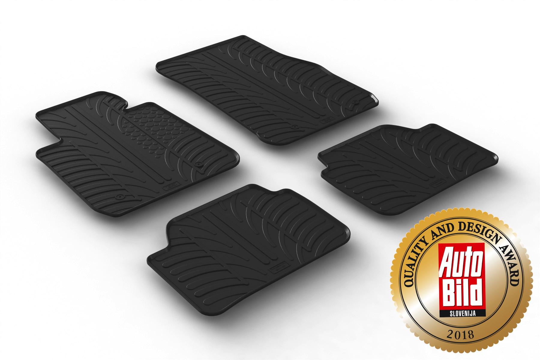 Fußmatten passgenau TOP Qualität BMW X3  ab 2011 Gummifußmatten